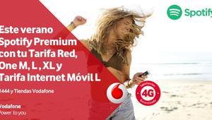Vodafone regala hasta 6 meses gratis de Spotify Premium a sus clientes