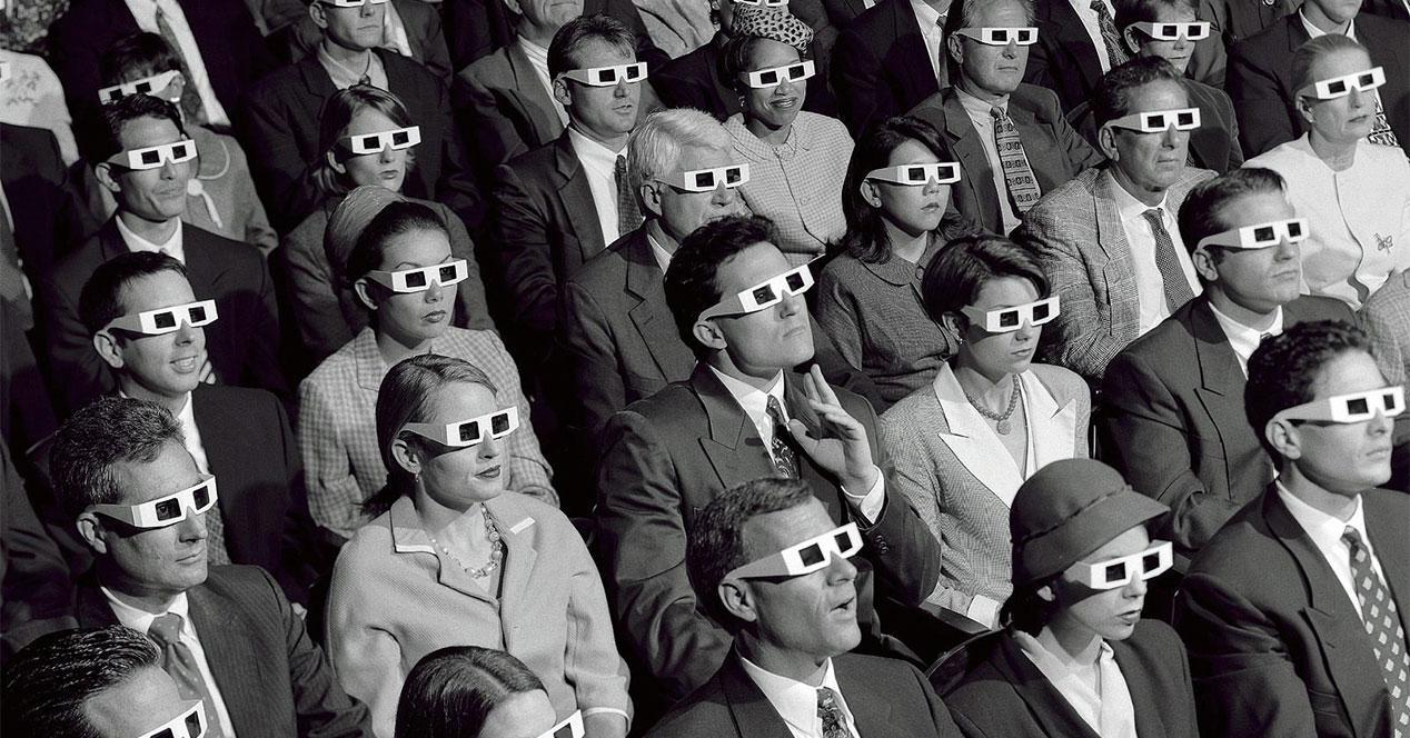 cine 3d gafas