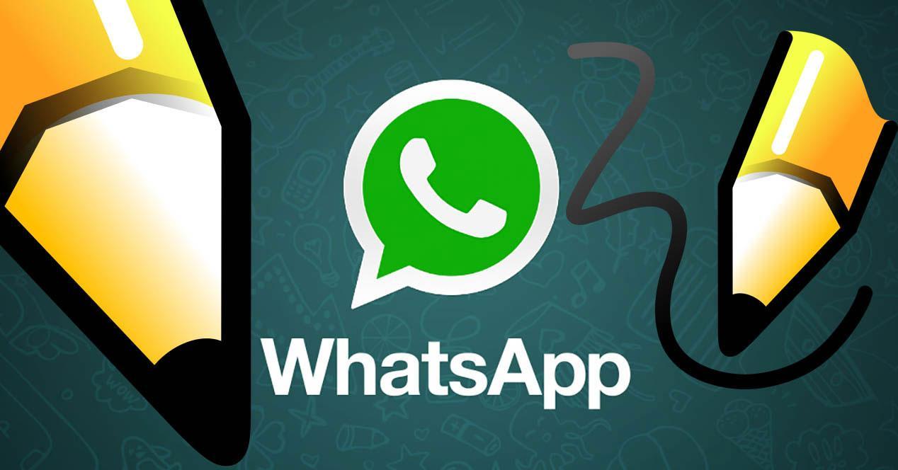 Dibujos en WhatsApp