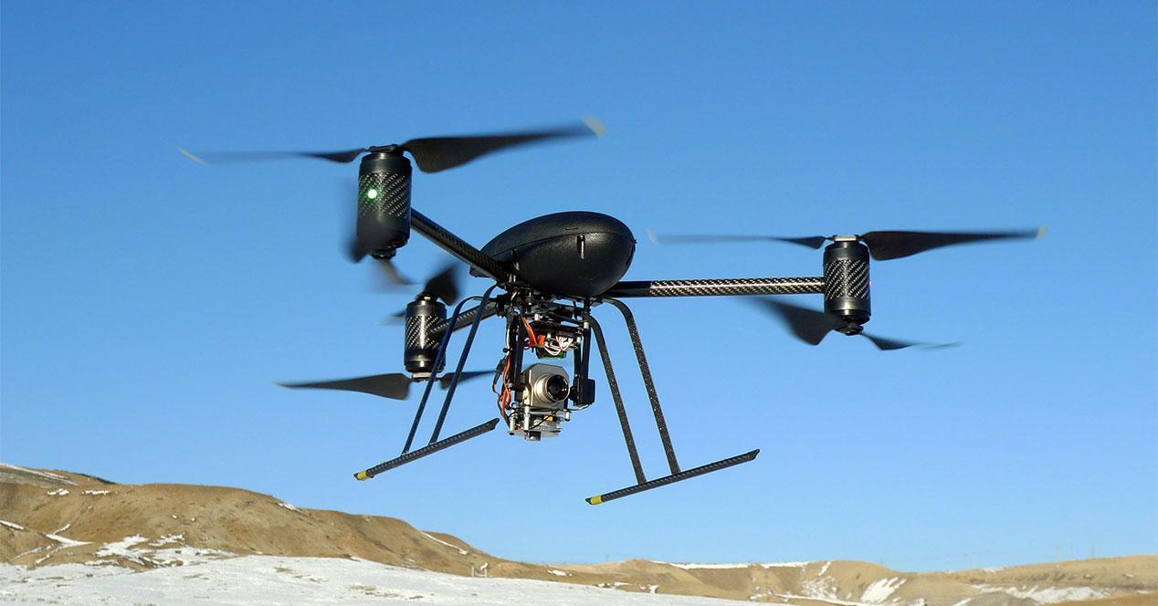 dron vigilancia LAPD