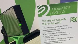 Seagate rompe todos los moldes y anuncia un SSD de 60 TB