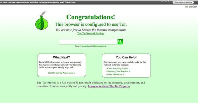 Actualizacion de Tor Browser