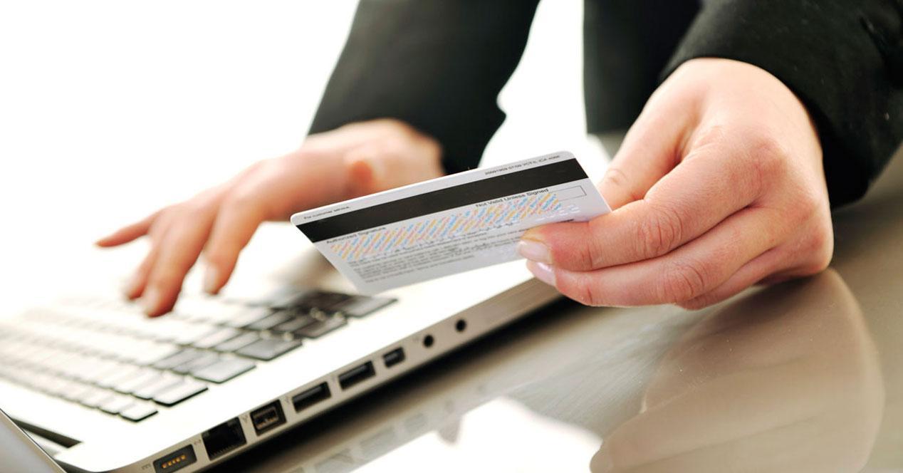 Datos bancarios de tarjeta