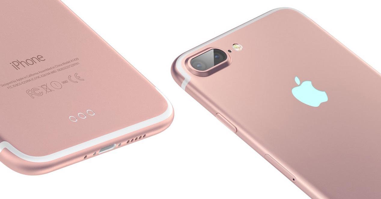 Doble lente del iPhone 7