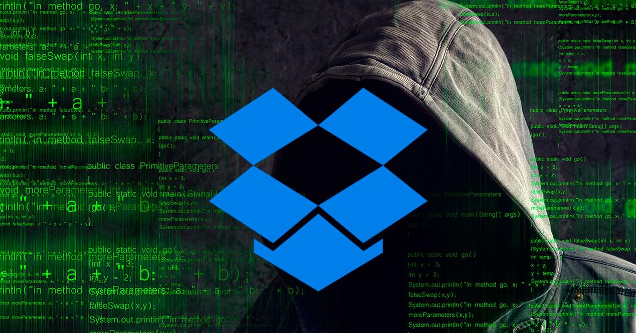Dropbox hackeado