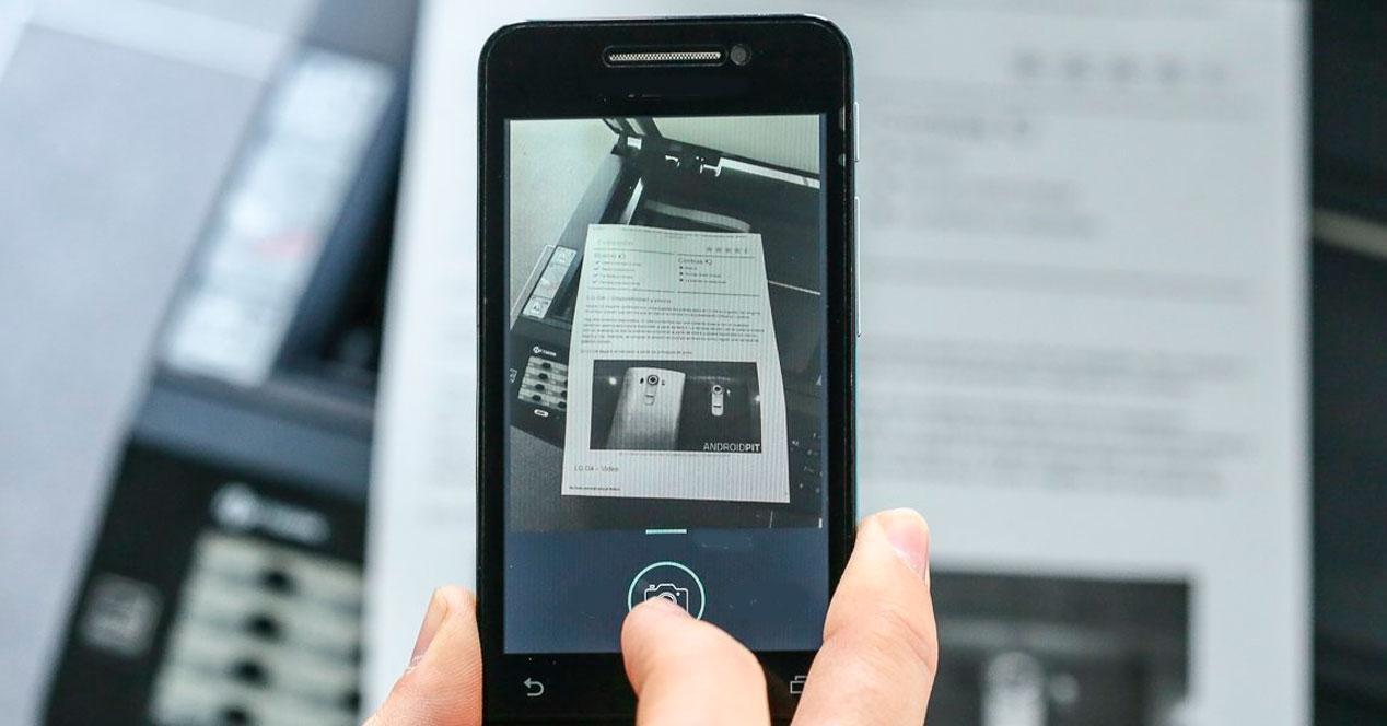 Escanear desde el móvil