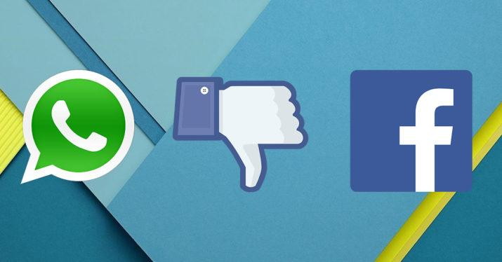 facebook whatsapp-dislike