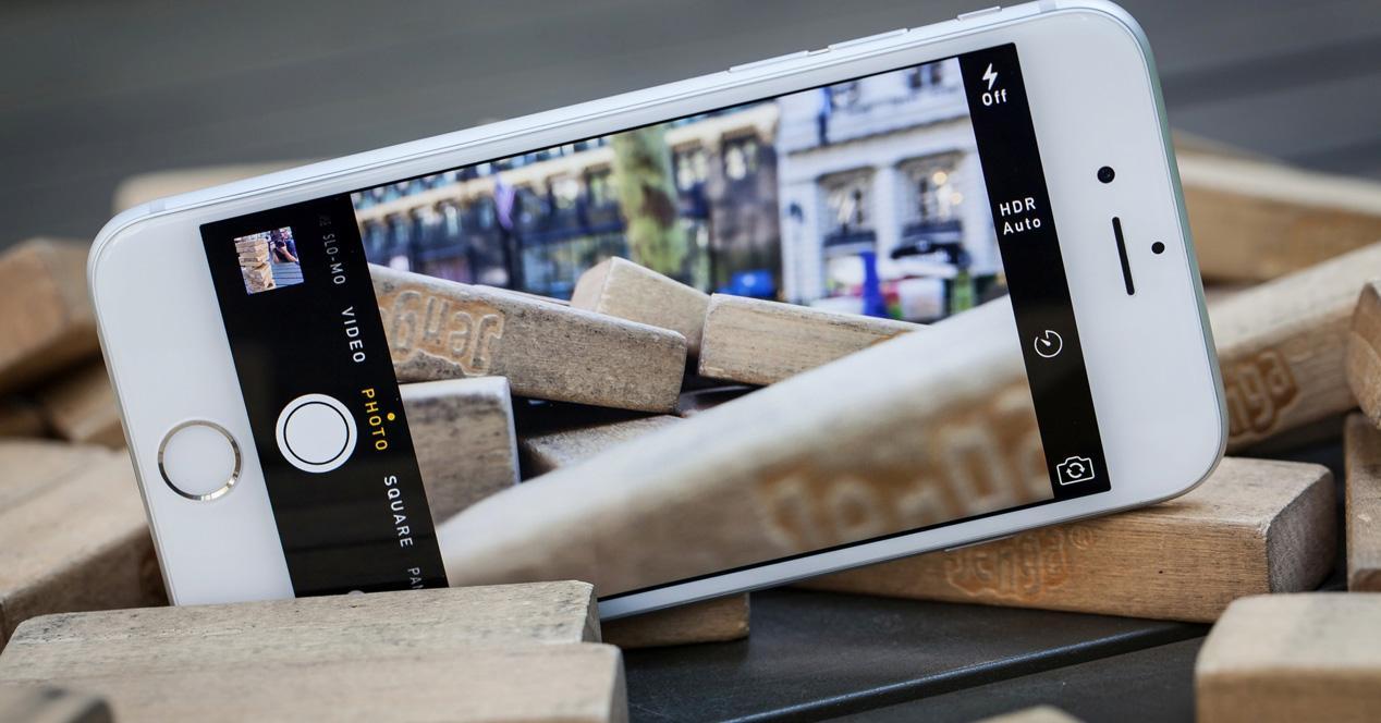 Hacer fotos con iPhone