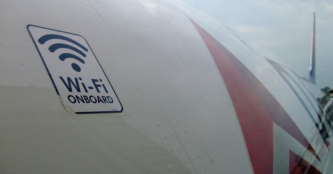 WiFi de los aviones