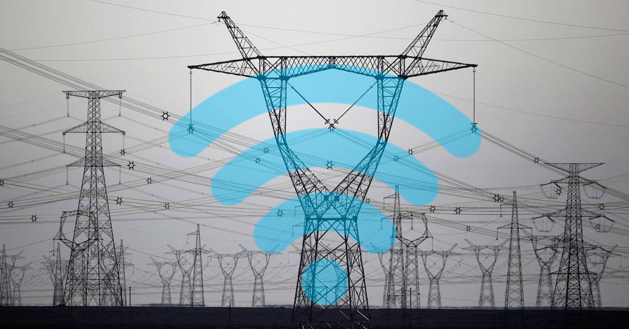 Internet tendido eléctrico