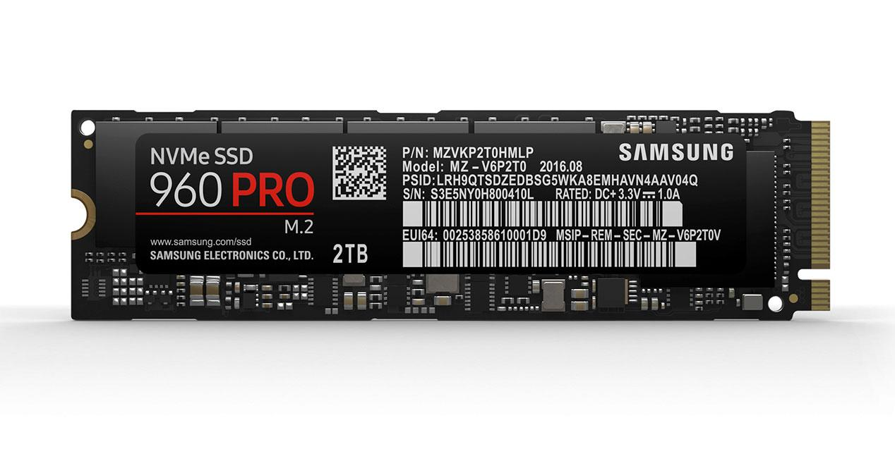 Samsung-NVMe-3 960 pro ssd