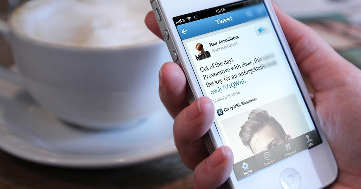 Twitter en el iPhone