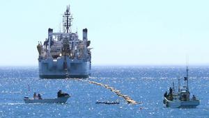Así se instaló el cable submarino de 9000 kilómetros del Pacífico