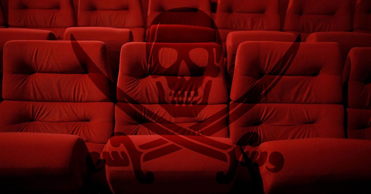 Pirateria en el cine