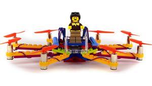 Construye tu propio drone con LEGO gracias a Flybrix
