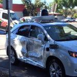 El coche autónomo de Google sufre otro accidente en Mountain View