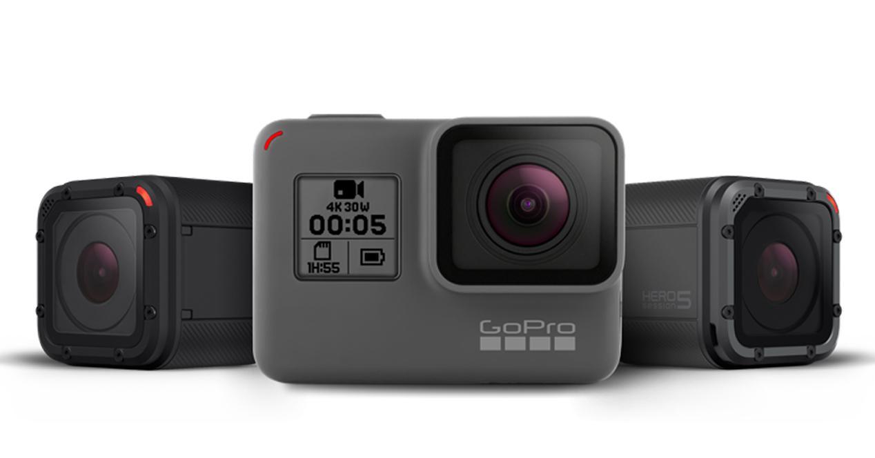 GoPro HERO5 Black y Session: sumergibles sin carcasa, y con control ...