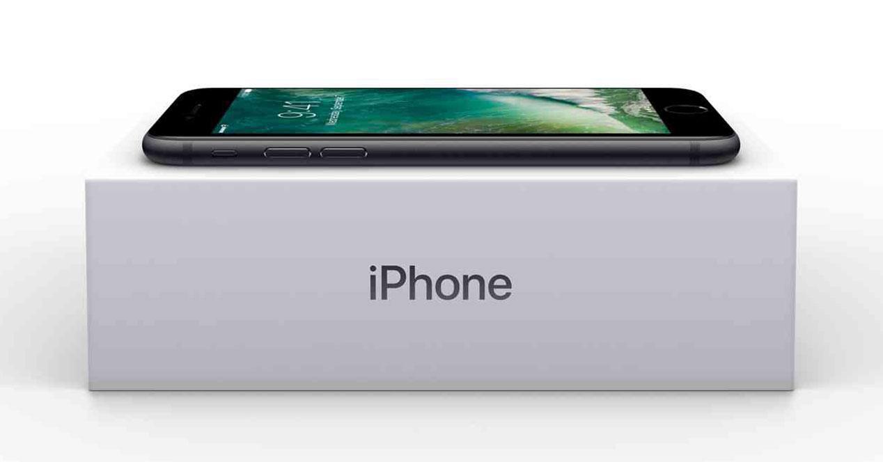iphone 7 caja