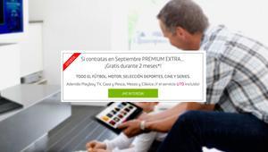 Movistar amplía el plazo para conseguir dos meses gratis de Premium Extra