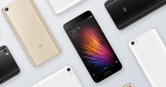 Terminales moviles de Xiaomi