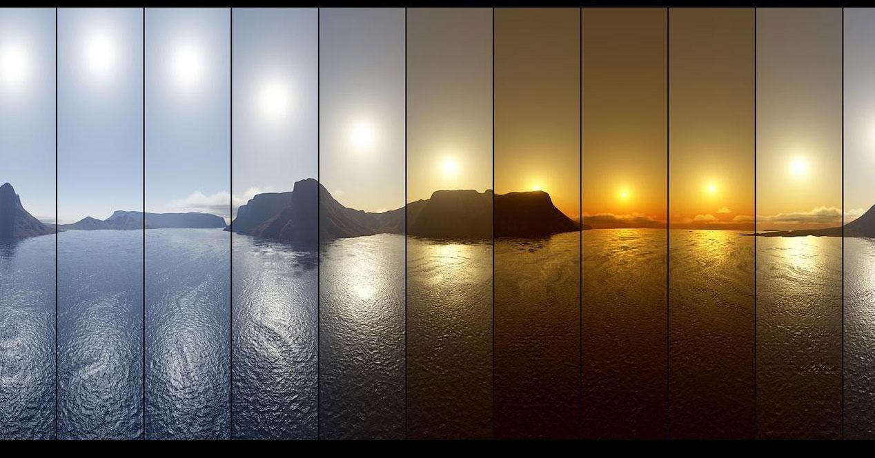 Videos en timelapse
