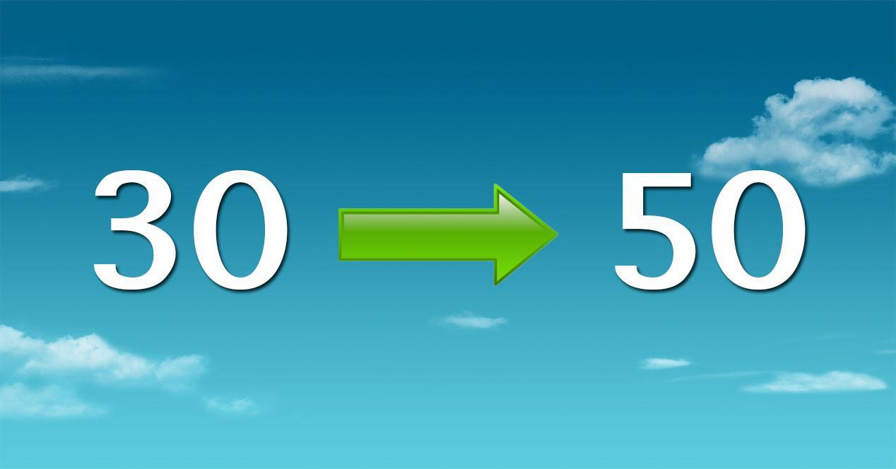 50 megas