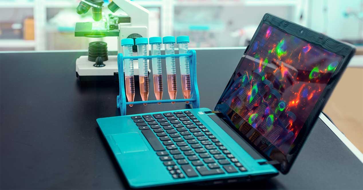 ordenador laboratorio