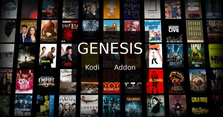 Add-on Genesis para software Kodi
