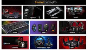 Los mejores chollos de la nueva sección Amazon Gaming PC