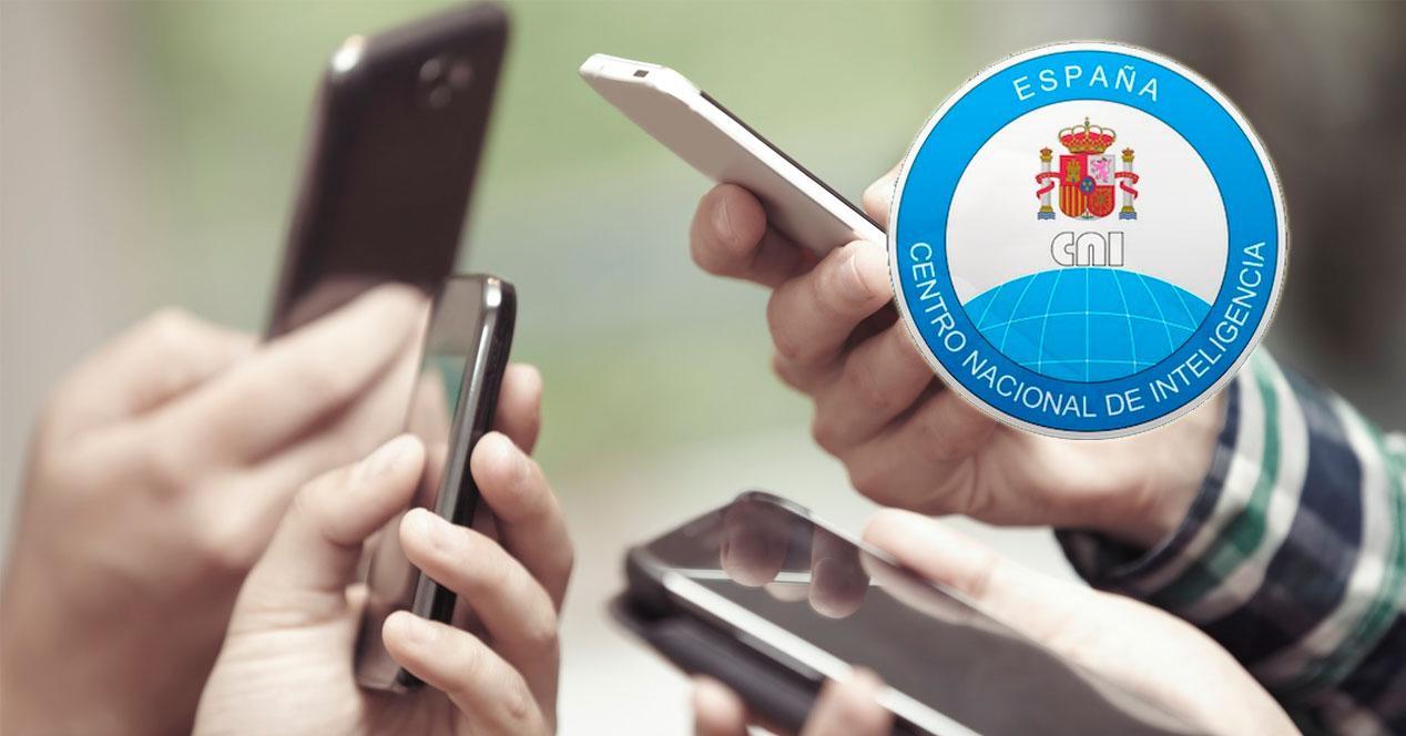 CNI uso seguro del móvil