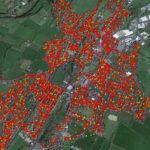 Crea un mapa de redes WiFi de su barrio con su coche y una Raspberry Pi