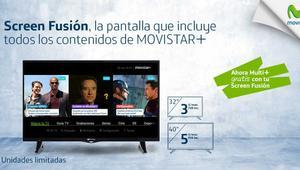 Movistar regala el Multi+ a los clientes de Screen Fusión