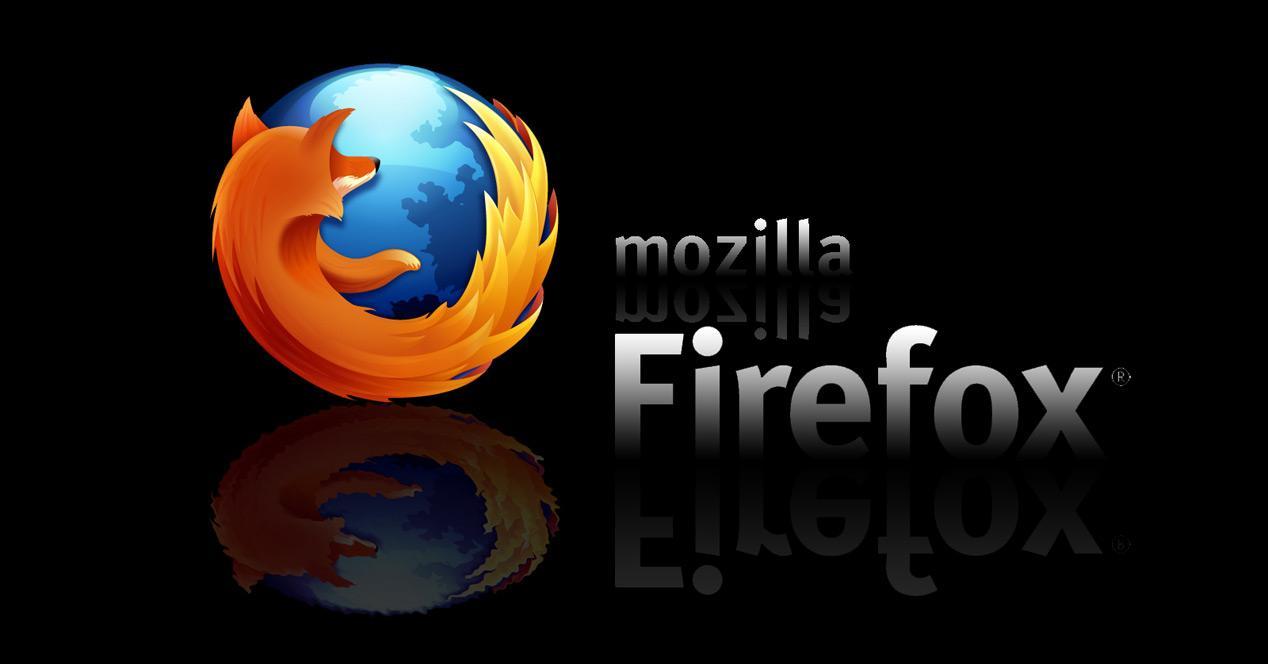 Reflejo logo Mozilla Firfox