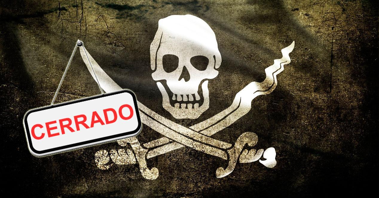 cierre webs piratas
