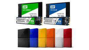 Western Digital entra por fin al mundo de los SSD, y también renueva su gama My Passport