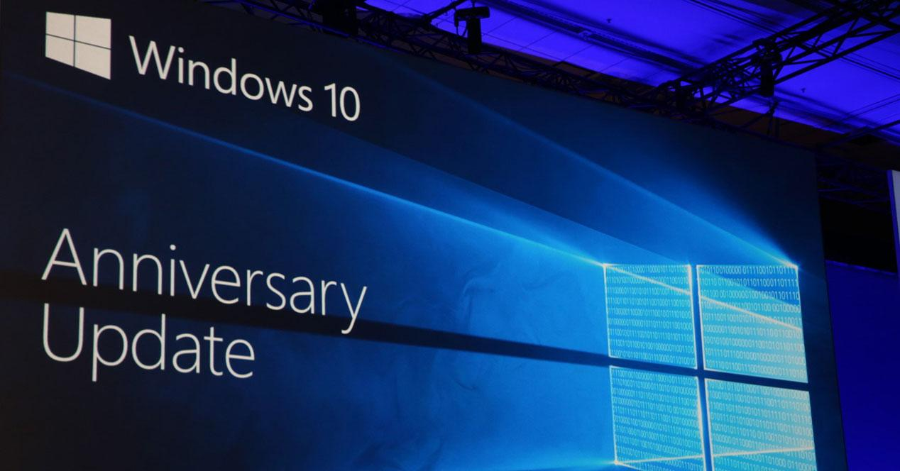 Actualizacion Windows 10 Anniversary Update