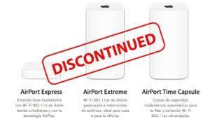 Apple deja de fabricar los router AirPort y desmantela el equipo detrás de ellos