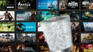 Cómo eliminar archivos temporales de juegos de Steam, Origin, uPlay y Gog