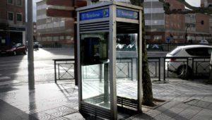 """Las cabinas telefónicas de Madrid """"caducan"""" el próximo 31 de diciembre"""