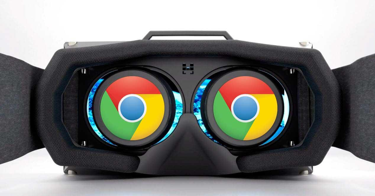 Chrome realidad virtual