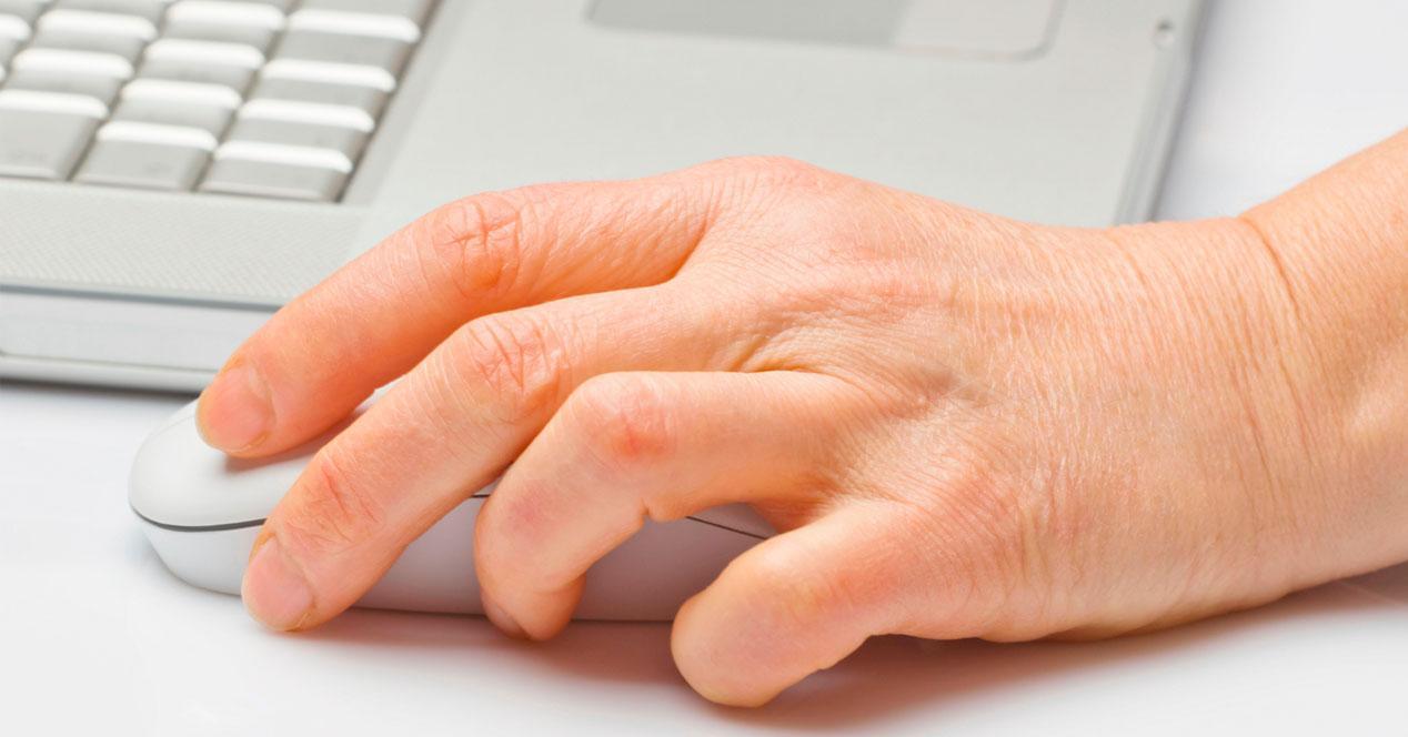 control ratón por gestos