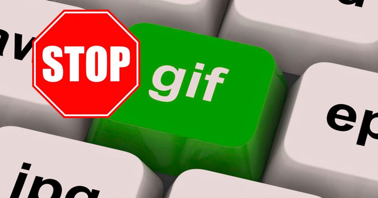 detener reproducción GIFs
