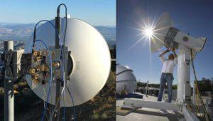 Facebook consigue velocidades de 20 Gbps para sus drones antena