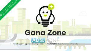 Presentamos Gana Zone, luz eléctrica al mejor precio y además 100% renovable