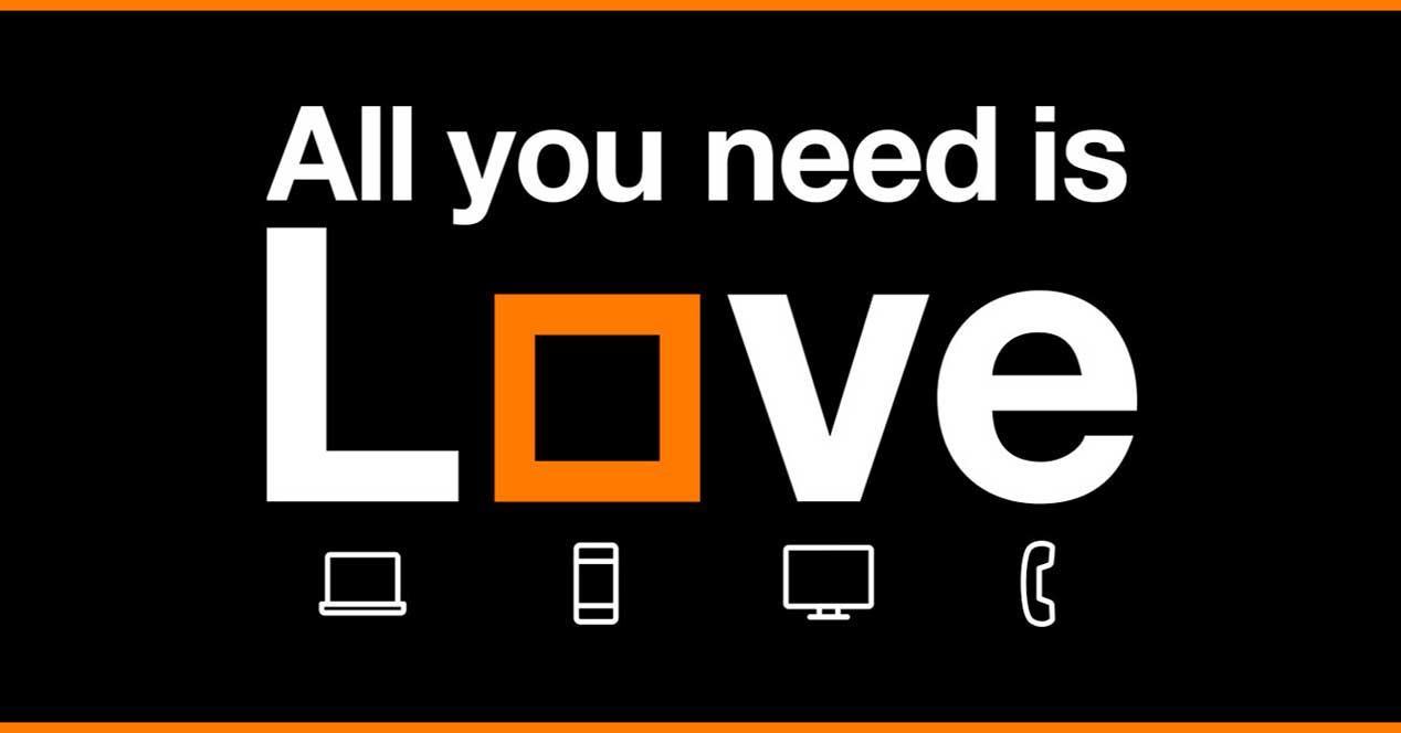 Orange Love Familia Total