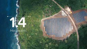 Tesla y SolarCity liberan a una isla del diésel gracias a la energía solar