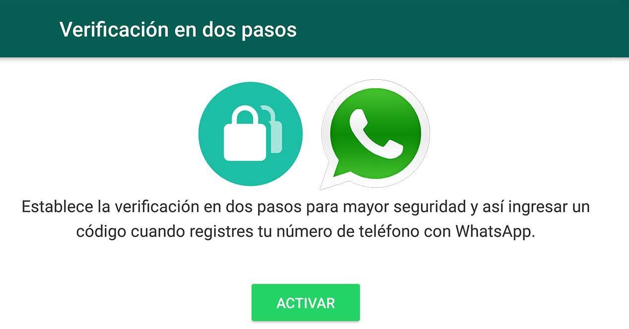 WhatsApp añade la verificación en dos pasos en su beta: así se activa