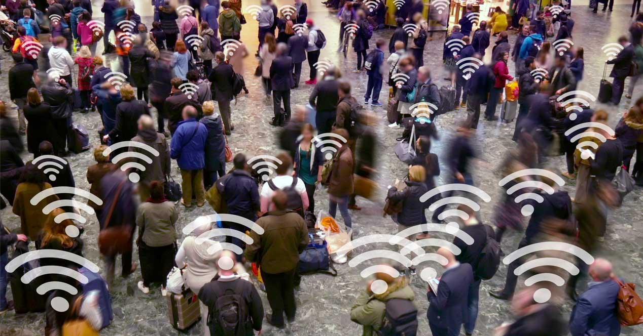 WiFi track IMSI