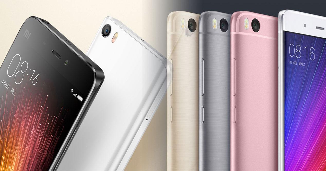 Xiaomi mi5 y mi5s