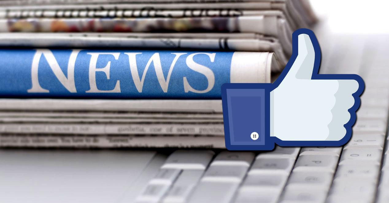 Noticias en Facebook